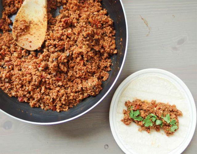 Receta de Cómo cocinar soja texturizada