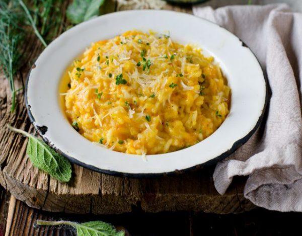 Receta de Risotto cuatro quesos cremoso