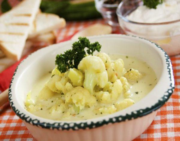 Receta de Sopa de coliflor de la Abuela