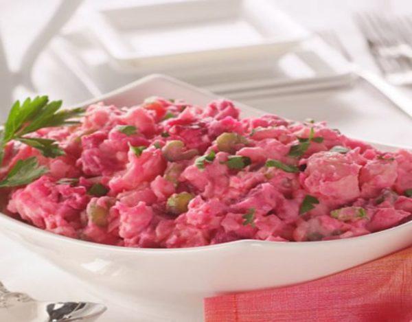 Receta de Ensalada de remolacha y patatas