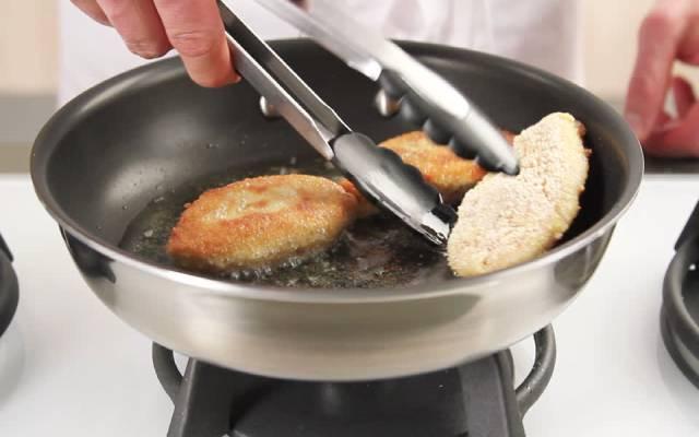 Pollo rebozado sin gluten