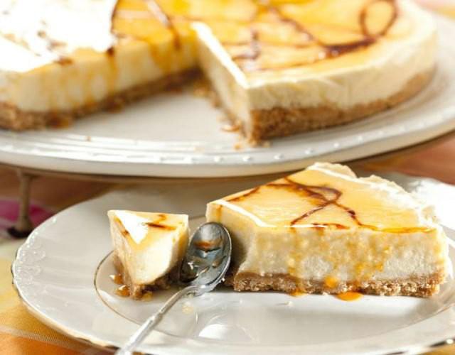 Receta de Tarta mousse de limón
