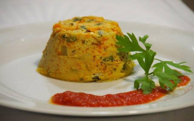 Flan salado de verduras