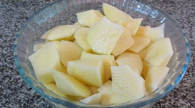 Gofres de patata veganos