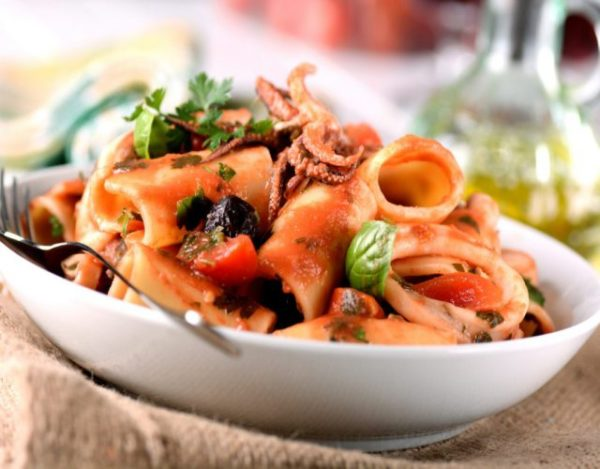 Receta de Calamarata napolitana casera