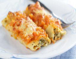 Canelones Vegetarianos de Zanahoria