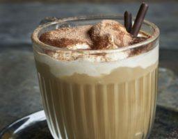 eceta de Café especiado con calabaza