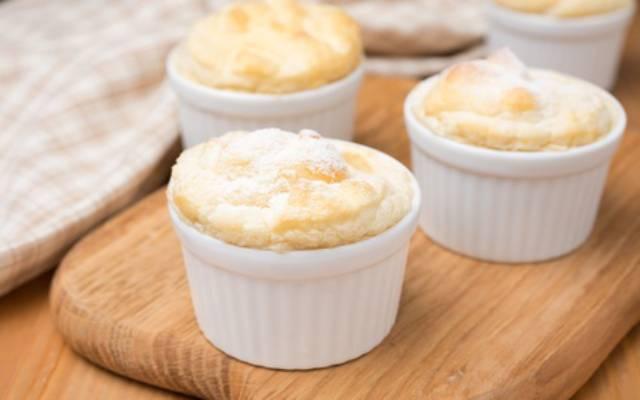 Soufflé de queso sin gluten