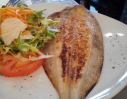 Gallo a la plancha con limón (pescado)