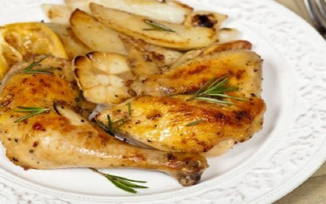 Muslitos de pollo al ajillo