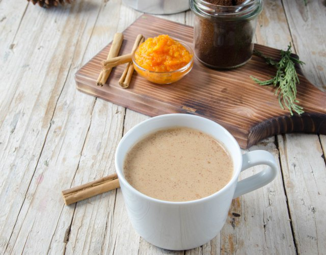 Receta de Café especiado de calabaza