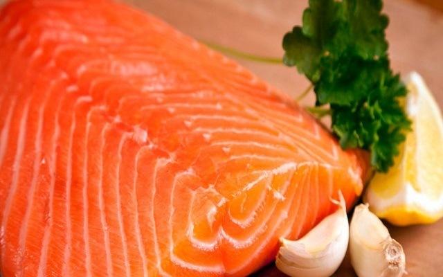 Focaccia de salmón