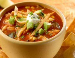 Receta de Sopa de tortilla mexicana