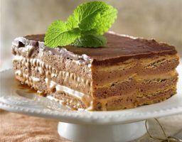 Tarta de toffe y chocolate