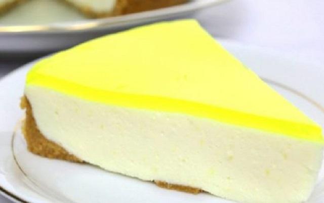 Tarta de limón y queso