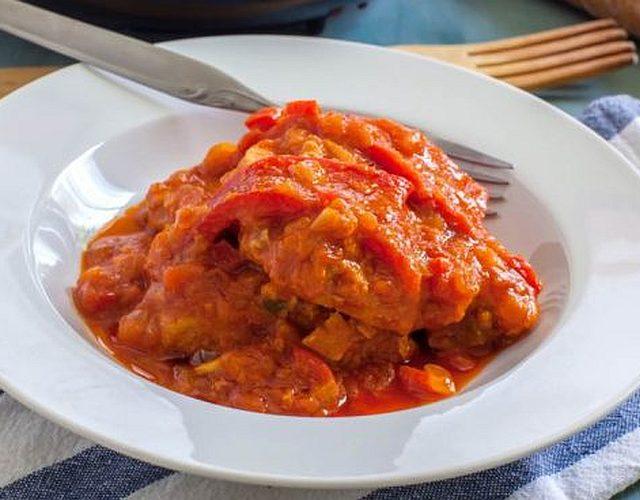 Ventresca en salsa de tomate