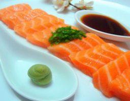 Receta de Sashimi de Salmón
