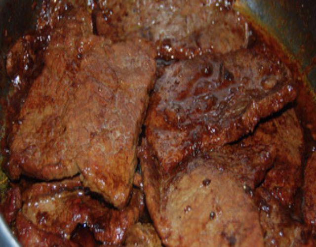 Receta de Arroz frito con ternera