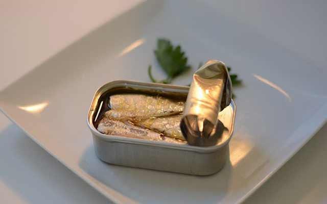 Paté de sardinas en escabeche