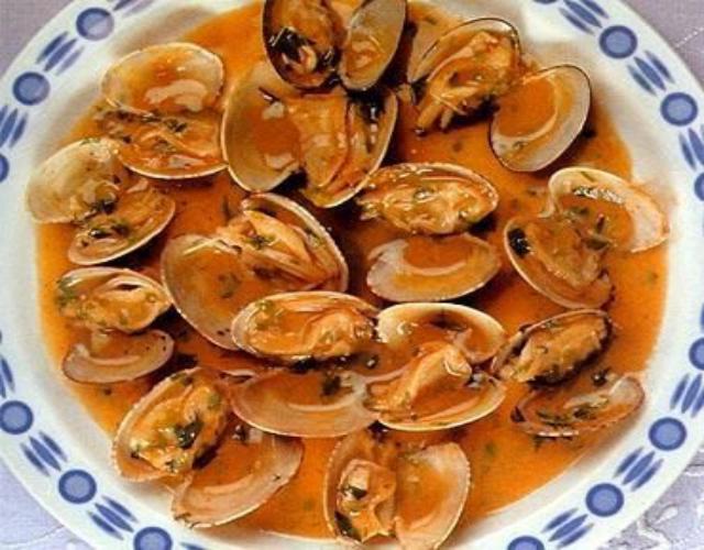 Receta de Sopa de Almejas