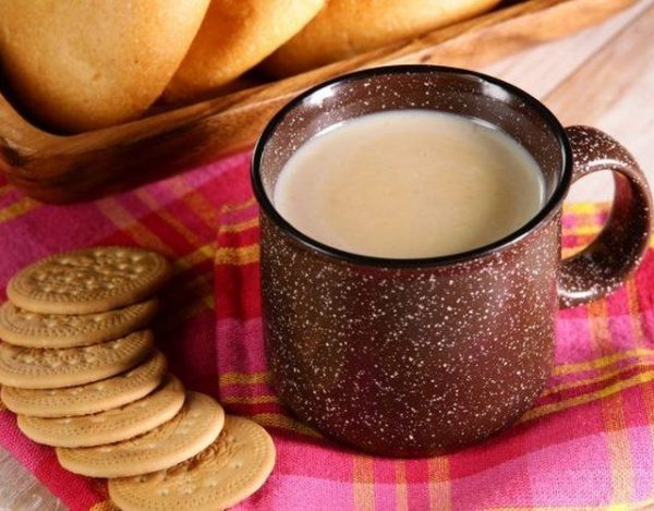 Atole de galleta, ideal para los días fríos