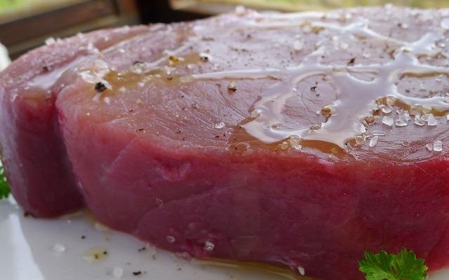 Atún con salsa de soja