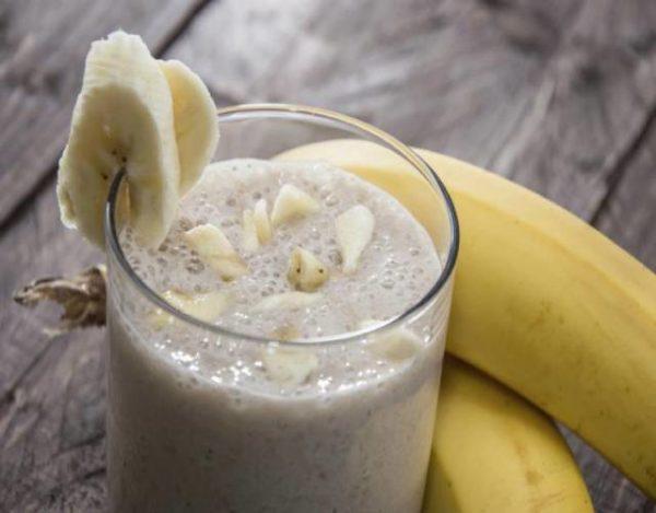 Lassi de plátano especiado