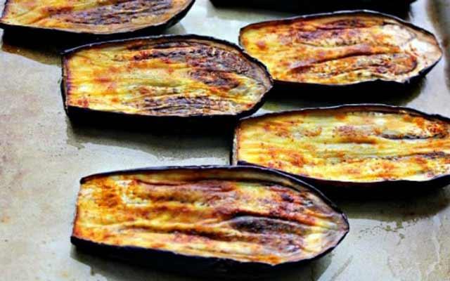 Ensalada de berenjenas árabe