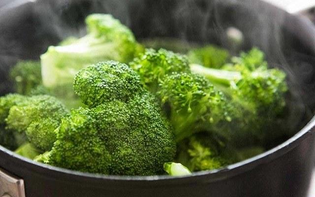Crema de brócoli sin nata