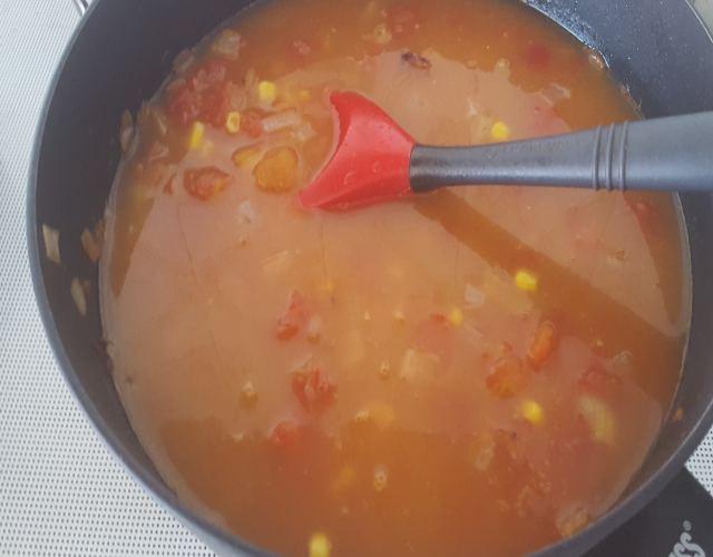 Receta de Sopa de carne molida