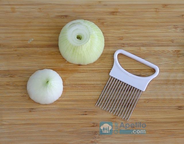 cortador de cebollas