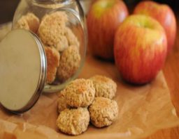 Receta de Galletas de manzana