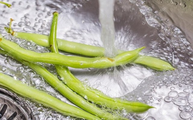 Sopa de judías verdes