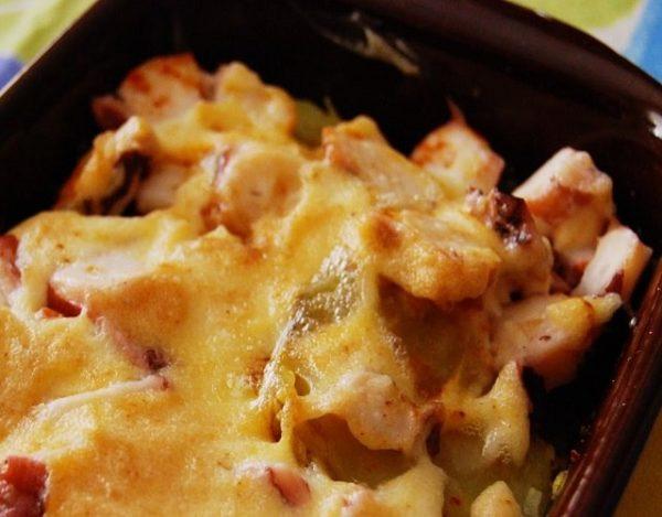Pulpo con patatas y alioli