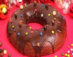 Roscón de Reyes con Chocolate