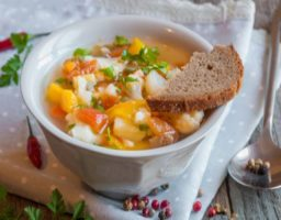 Receta de Sopa de verduras light