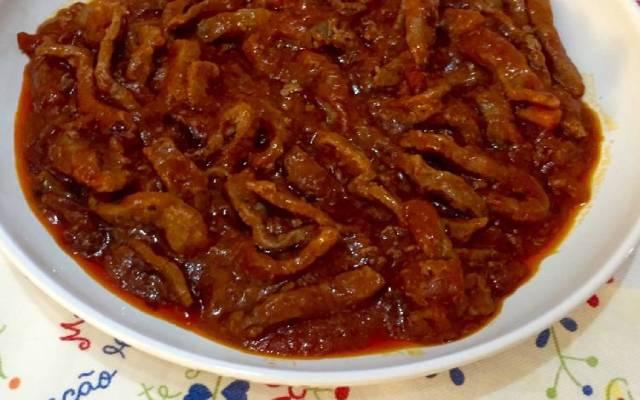 Ternera en salsa con tomate