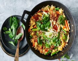 Arroz Thai Vegetariano
