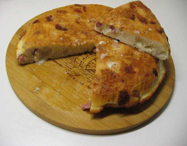Tortilla de Bacon y Queso