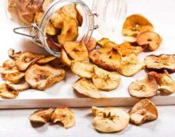 Chips de Frutas Deshidratadas
