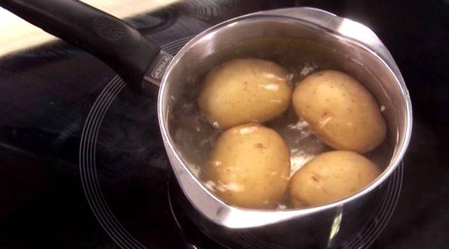 Puré de patata con queso