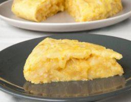 Receta de Tortillas de patatas con cebolla tierna