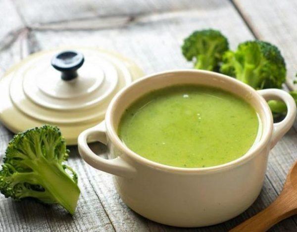Crema de brócoli y patata