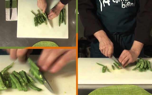 Ensalada de arroz con judias verdes