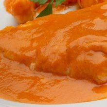 Merluza en salsa americana
