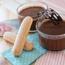 Receta de Natillas de chocolate sin azúcar