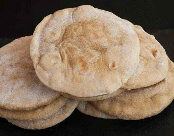 Receta de Pan árabe al hornoPan árabe al horno