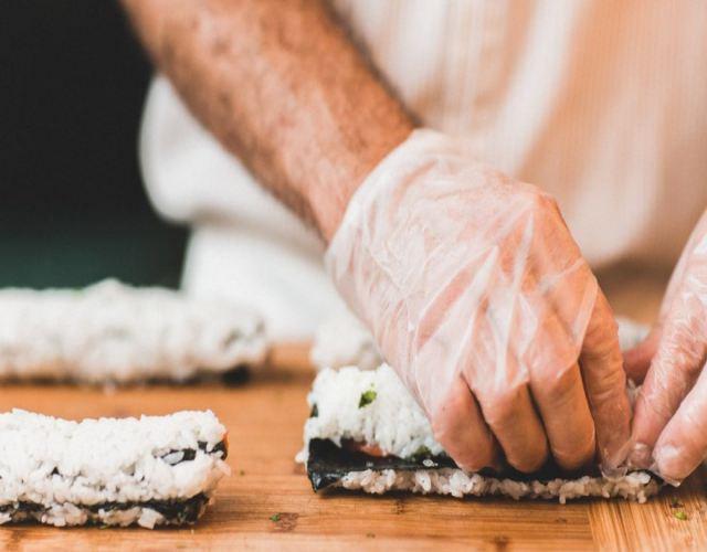 Receta de Sushi de salmón y Philadelphia
