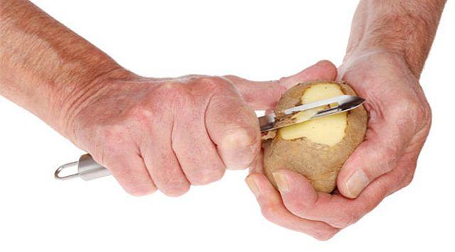 Acelgas con patata y jamón