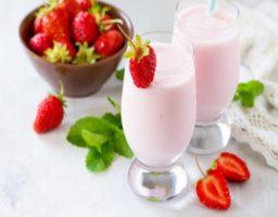 Receta de Yogur líquido de fresa